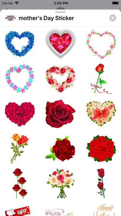 mother's Day Sticker Screenshot