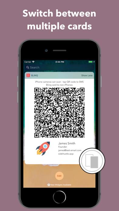 Blinq - Digital Business Cards screenshot four