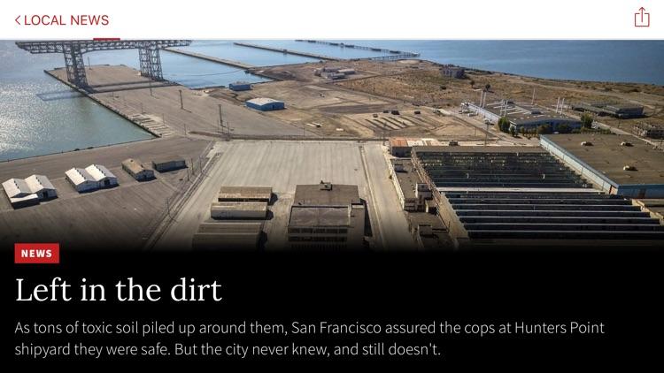 San Francisco Chronicle screenshot-5
