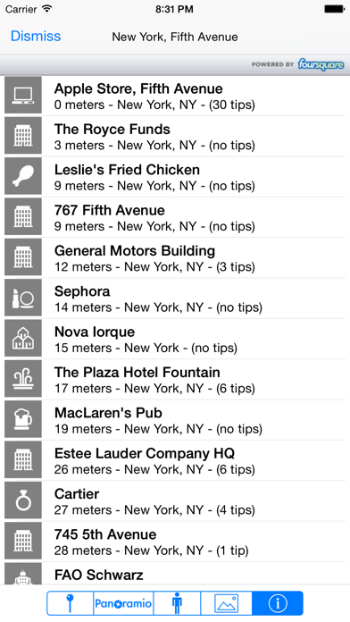 Screenshot for POIViewer in Sweden App Store