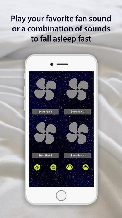 NiteFan - White Noise Fan App