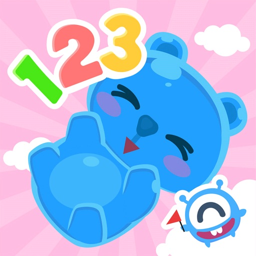 CandyBots Numbers 123 Kids Fun