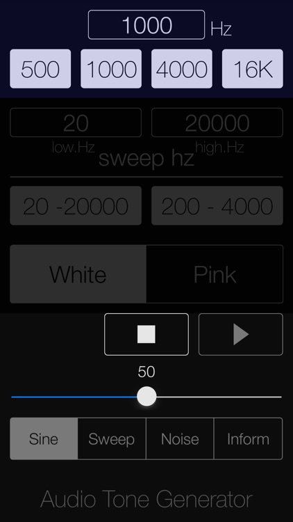 Audio Tone Generator Lite