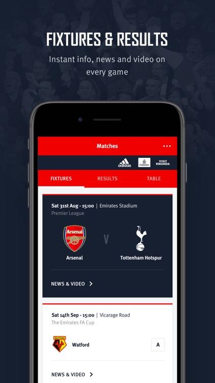 Arsenal Official App screenshot-3