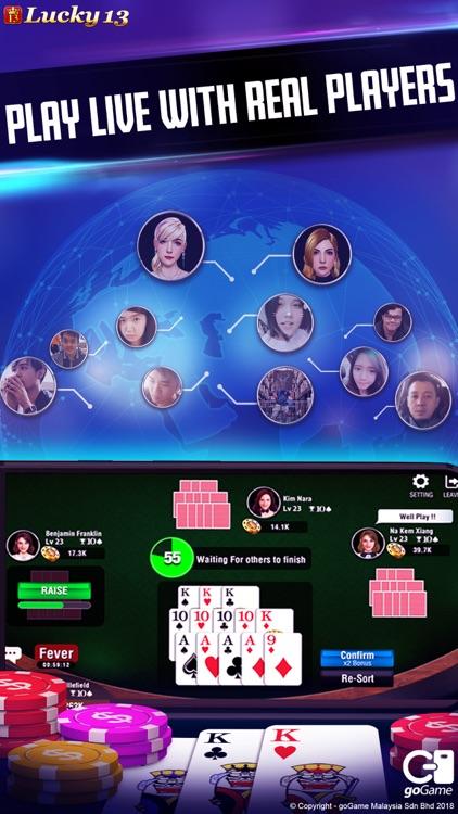 Lucky 13: 13 Poker Puzzle screenshot-6