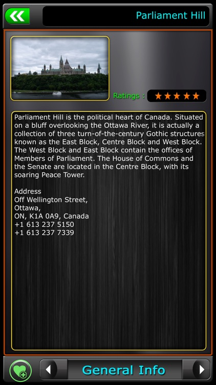 Ottawa Offline Map Guide