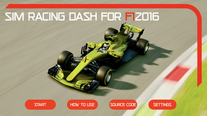 Sim Racing Dash for F1 2016 screenshot 1