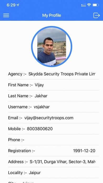 Security Troops Agency screenshot 3
