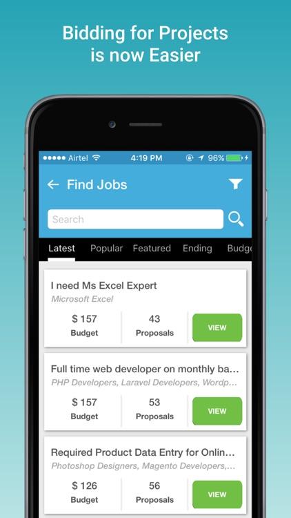 Search Jobs & Hire Freelancer screenshot-3