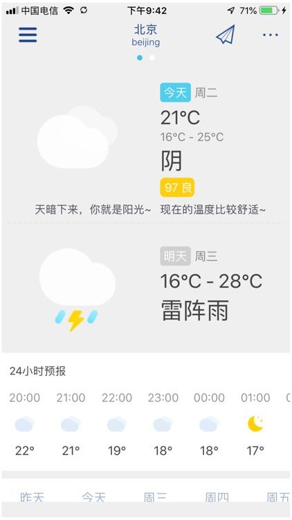 萌宝天气 screenshot-0