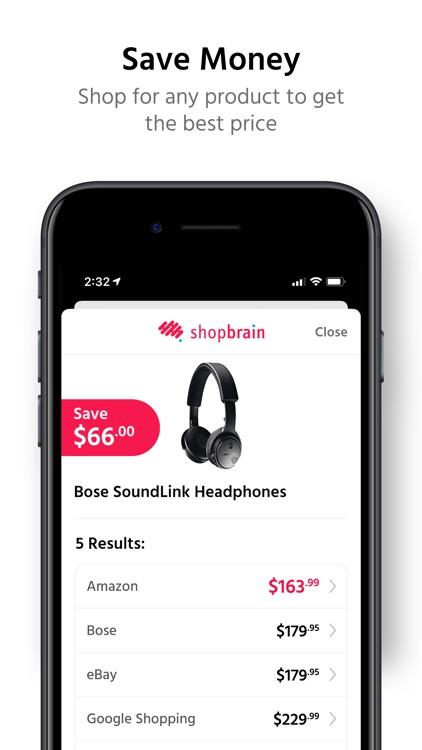 Shopbrain: Find Deals & Save