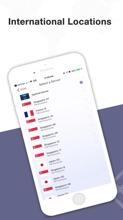 VON - Safe VPN for iPhone