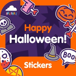 Ibbleobble Halloween Stickers