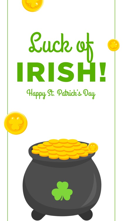 St Patrick's Day Stickers Pack