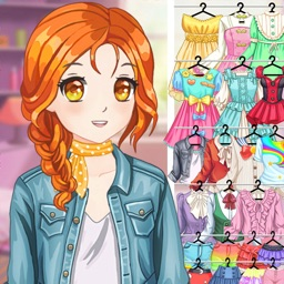 Anime Dress Up Fashion Games