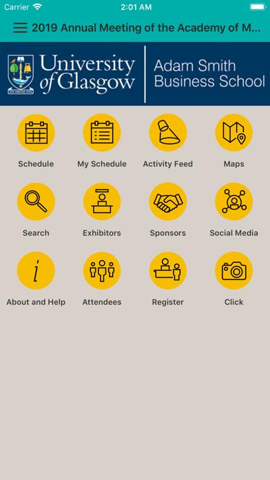 Academy of Management Meetings screenshot three