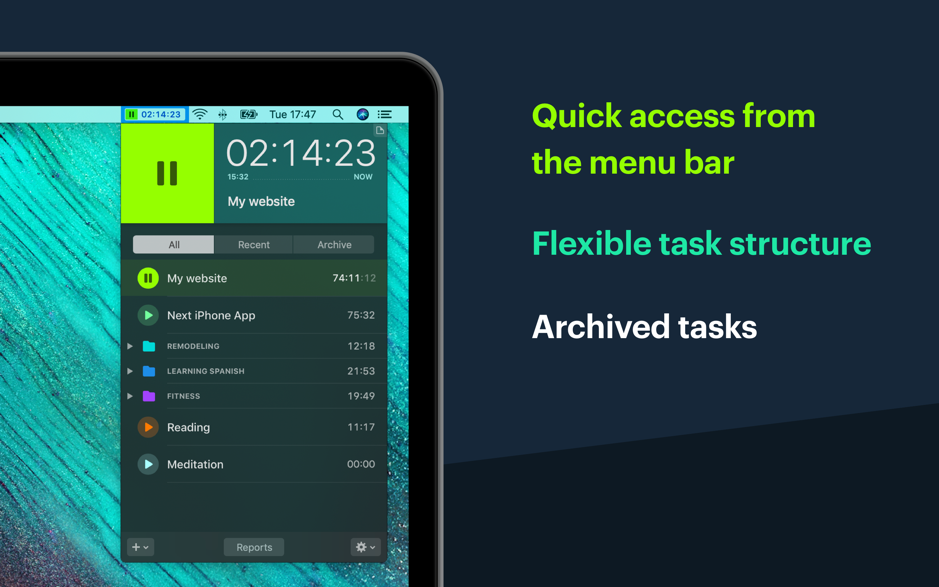 Timemator 1 1 – Automate your time-tracking based on your