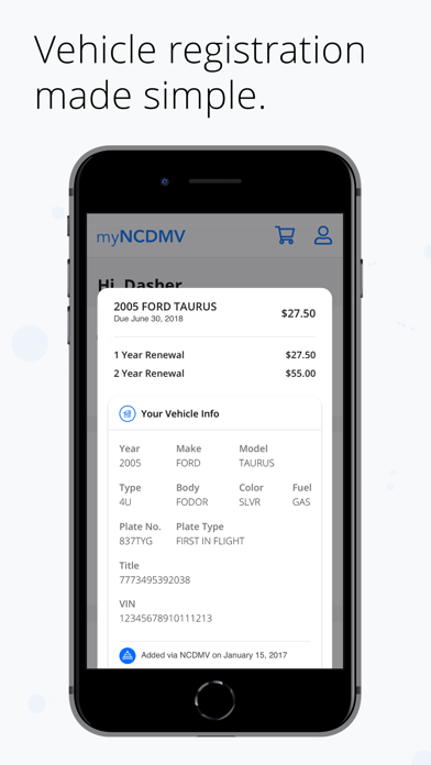 myNCDMVScreenshot of 4