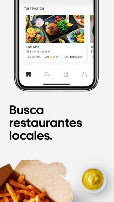 Screenshot for Uber Eats: Entregas de comida in Chile App Store