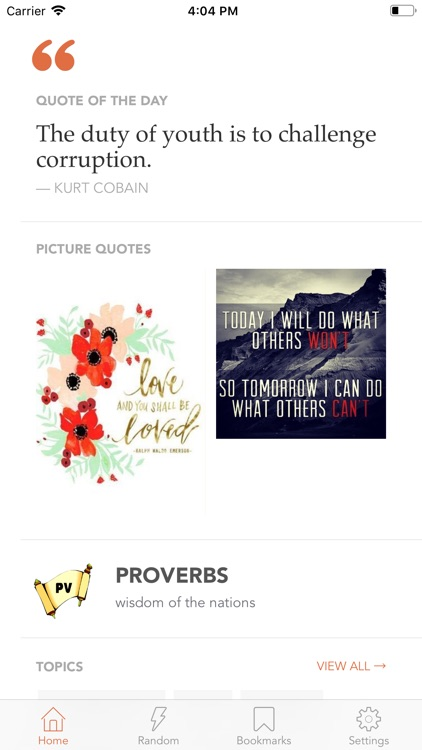 Quotes & Inspiration by Quotlr screenshot-4