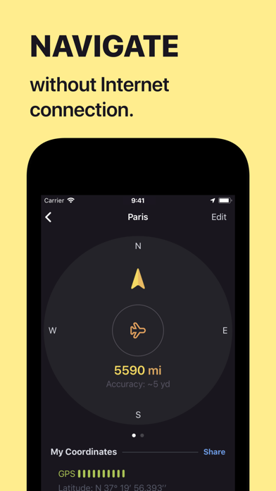 Screenshot for Anchor Pointer Compass GPS in Czech Republic App Store