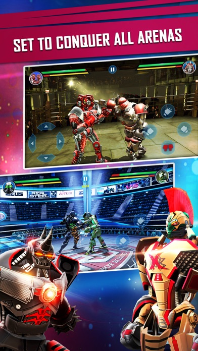 Screenshot for Real Steel in Egypt App Store