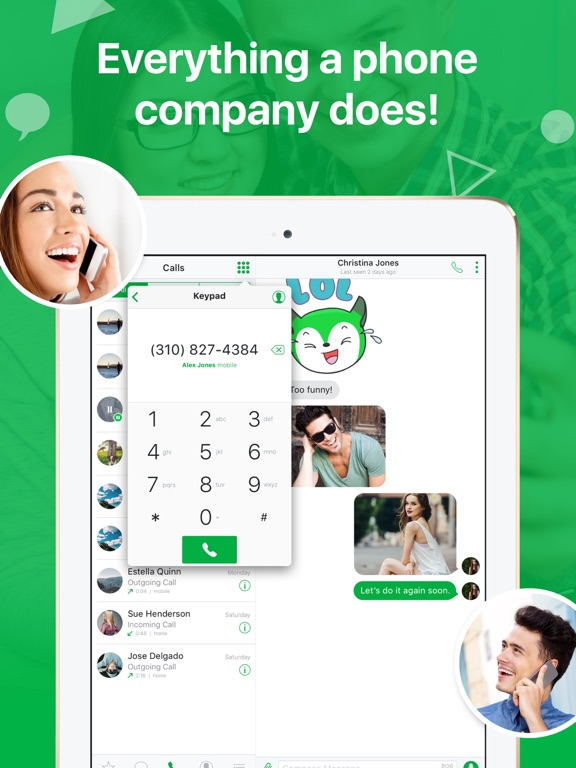 textPlus: Unlimited Text+Calls by textPlus, Inc  (iOS, United States
