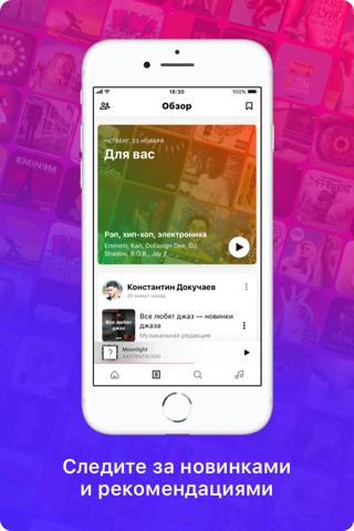 Скриншот из BOOM: плеер для музыки