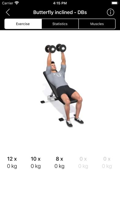 Pro-Fitness TrainingsappScreenshot von 4