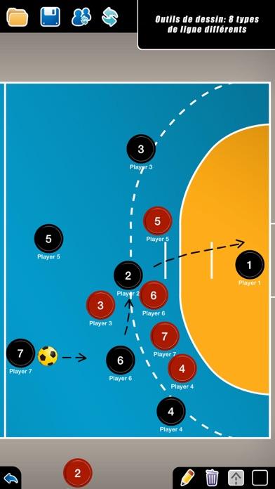Screenshot #3 pour Planche Tactique: Handball++
