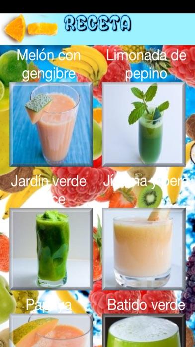 Recetas de batidos saludables screenshot two