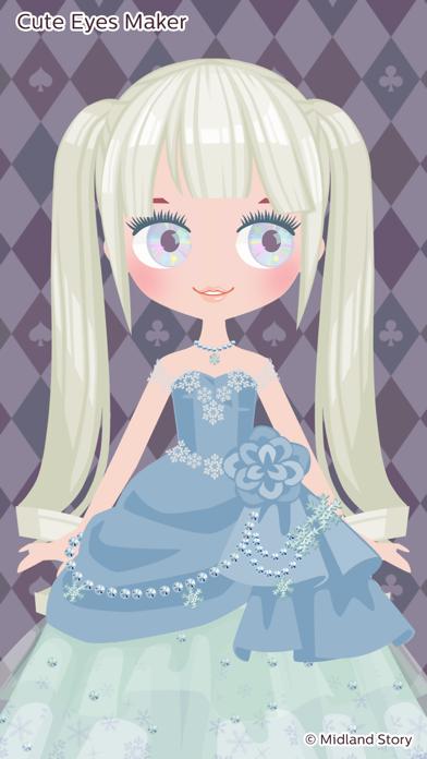 Cute Eyes Maker - メイクアップゲームのおすすめ画像3