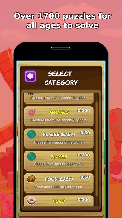 Word Jumble Farm screenshot-3