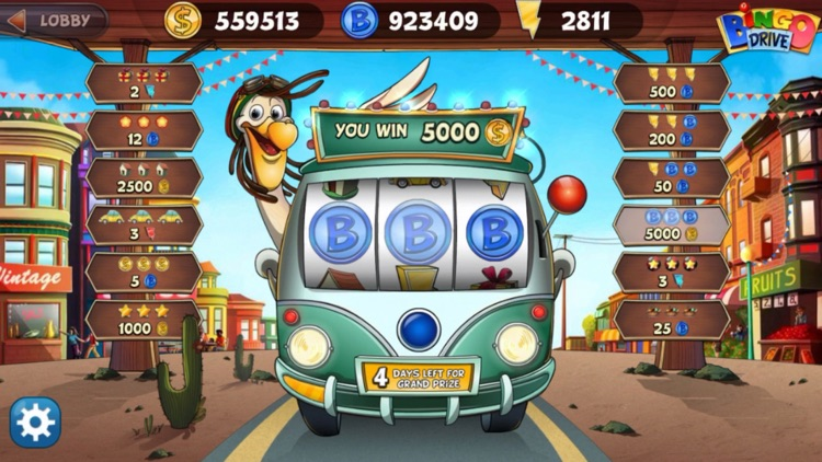 Bingo Drive™ Live Bingo Games screenshot-7