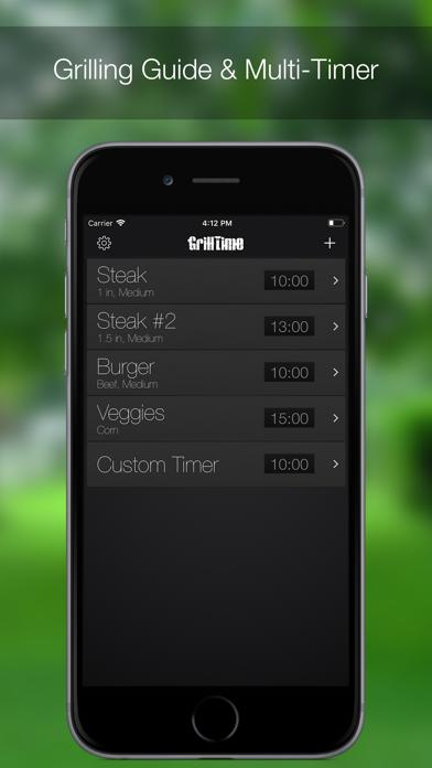 Grilltime review screenshots