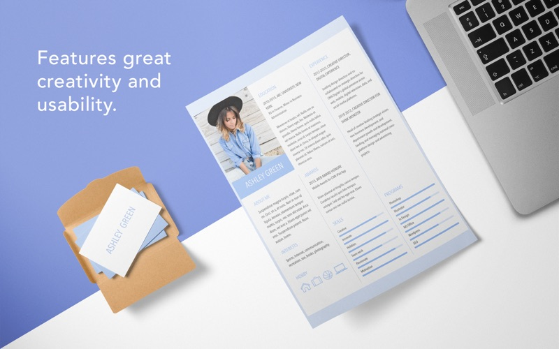 Resume Templates Screenshot