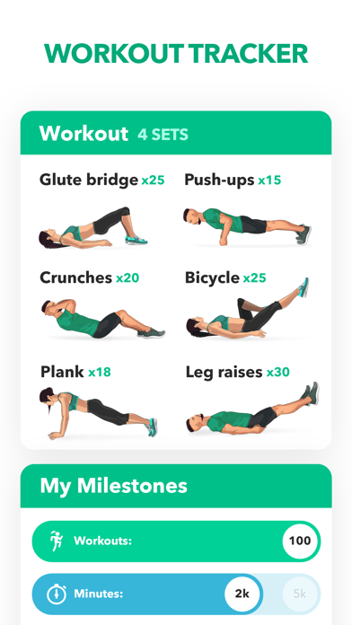 Home Fitness Workout by GetFit Screenshot