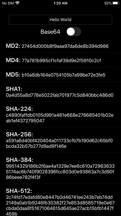 Hash Algorithm Generator screenshot-5