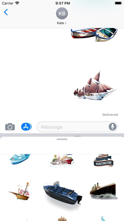 Sailboats Collection Stickers screenshot-4