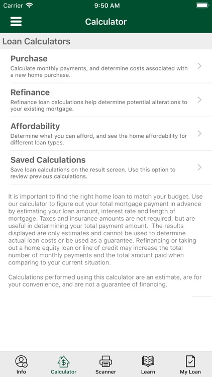 Fitzgerald Mortgage Calculator