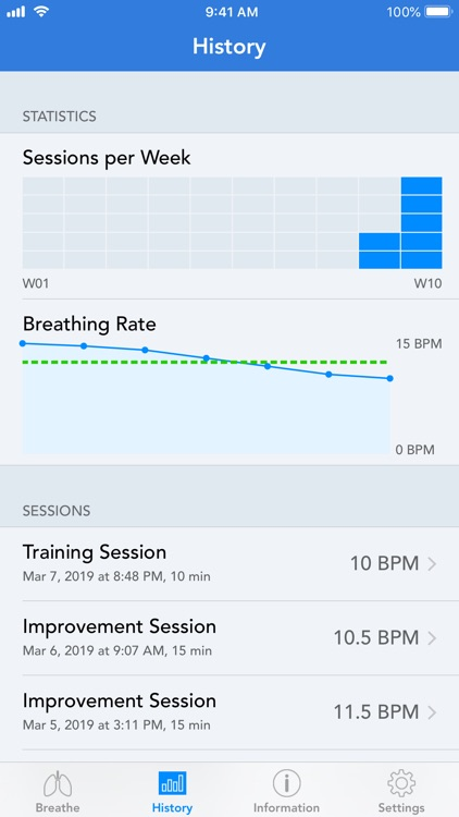 BreathingApp — Breath Trainer