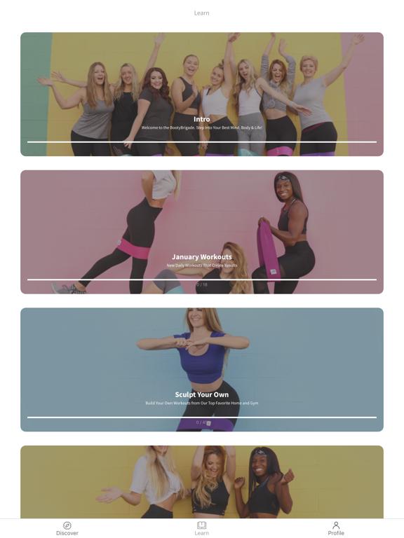 Booty Bands® Fitness screenshot 4