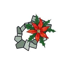 Christmas Scrunchie Stickers