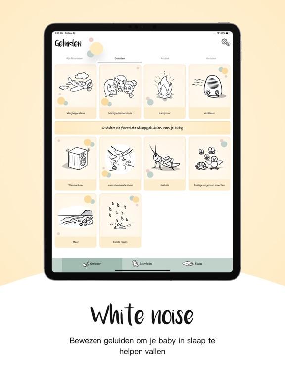 Oei, ik groei! - Babyfoon iPad app afbeelding 1