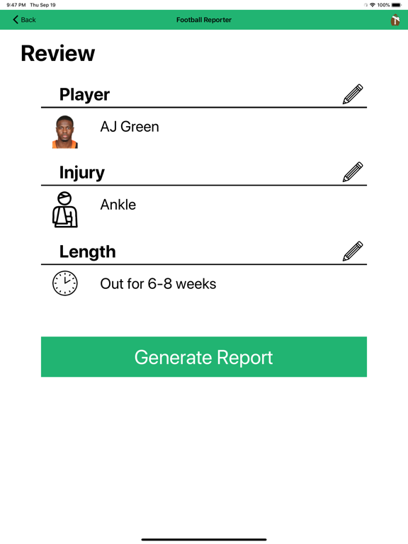 Football Reporter screenshot 9