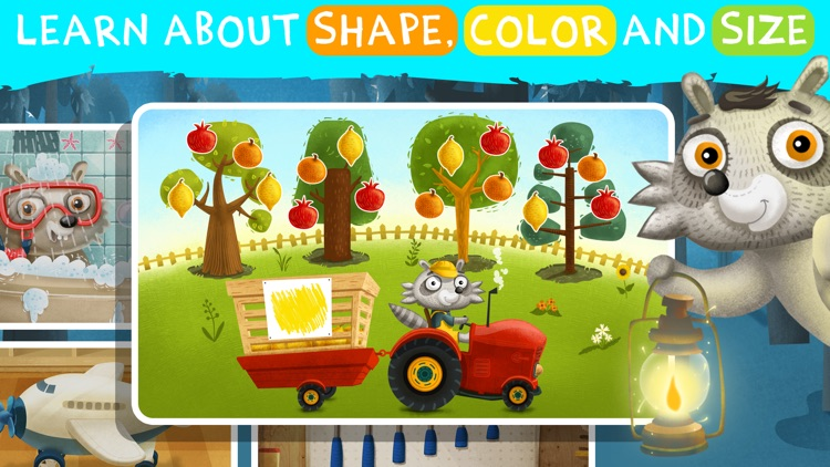 Learning games for toddlers 3+ screenshot-5