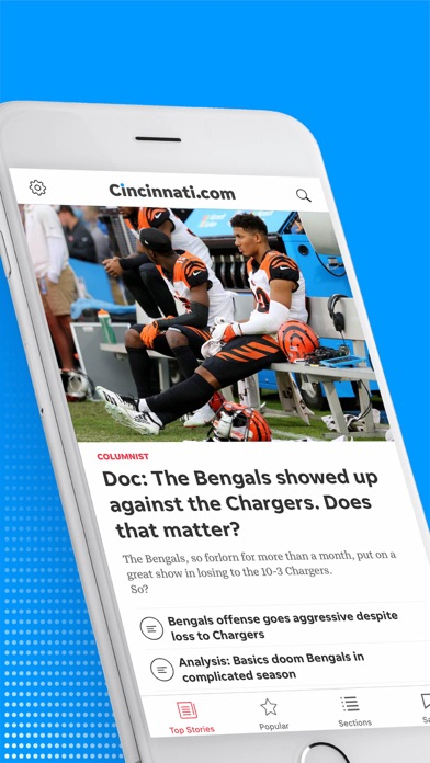 Screenshot for Cincinnati.com in United States App Store