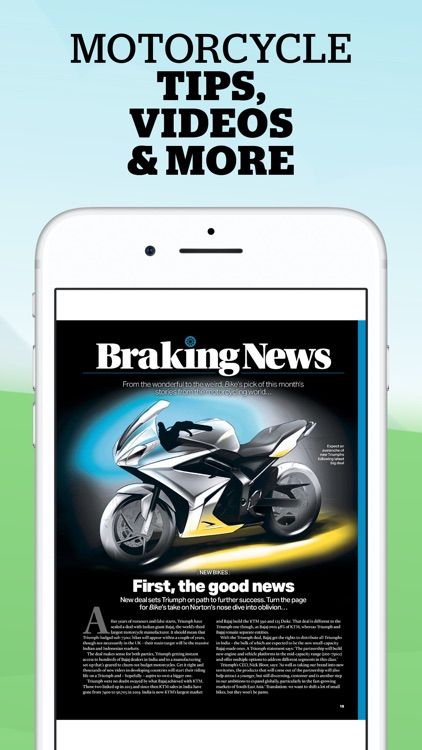 Bike Magazine: motorcycle news screenshot-1
