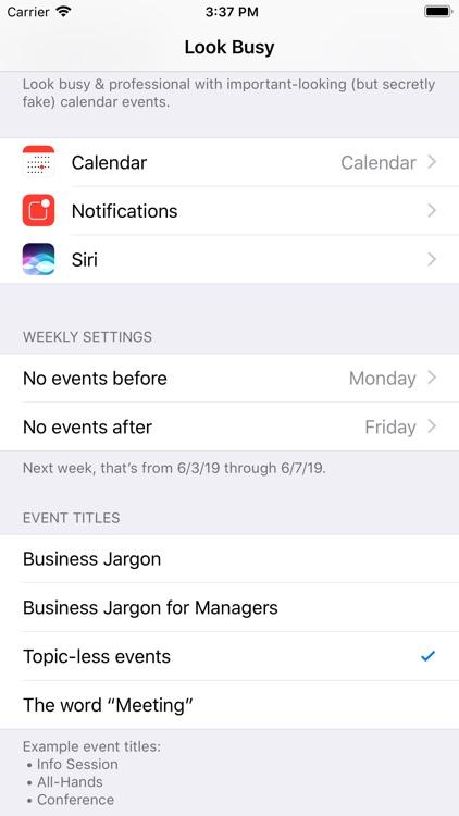 Look Busy screenshot-9