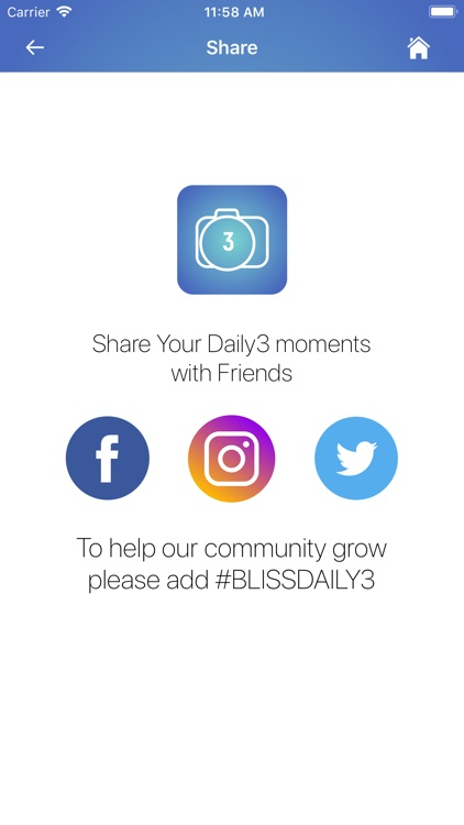 Bliss Daily 3